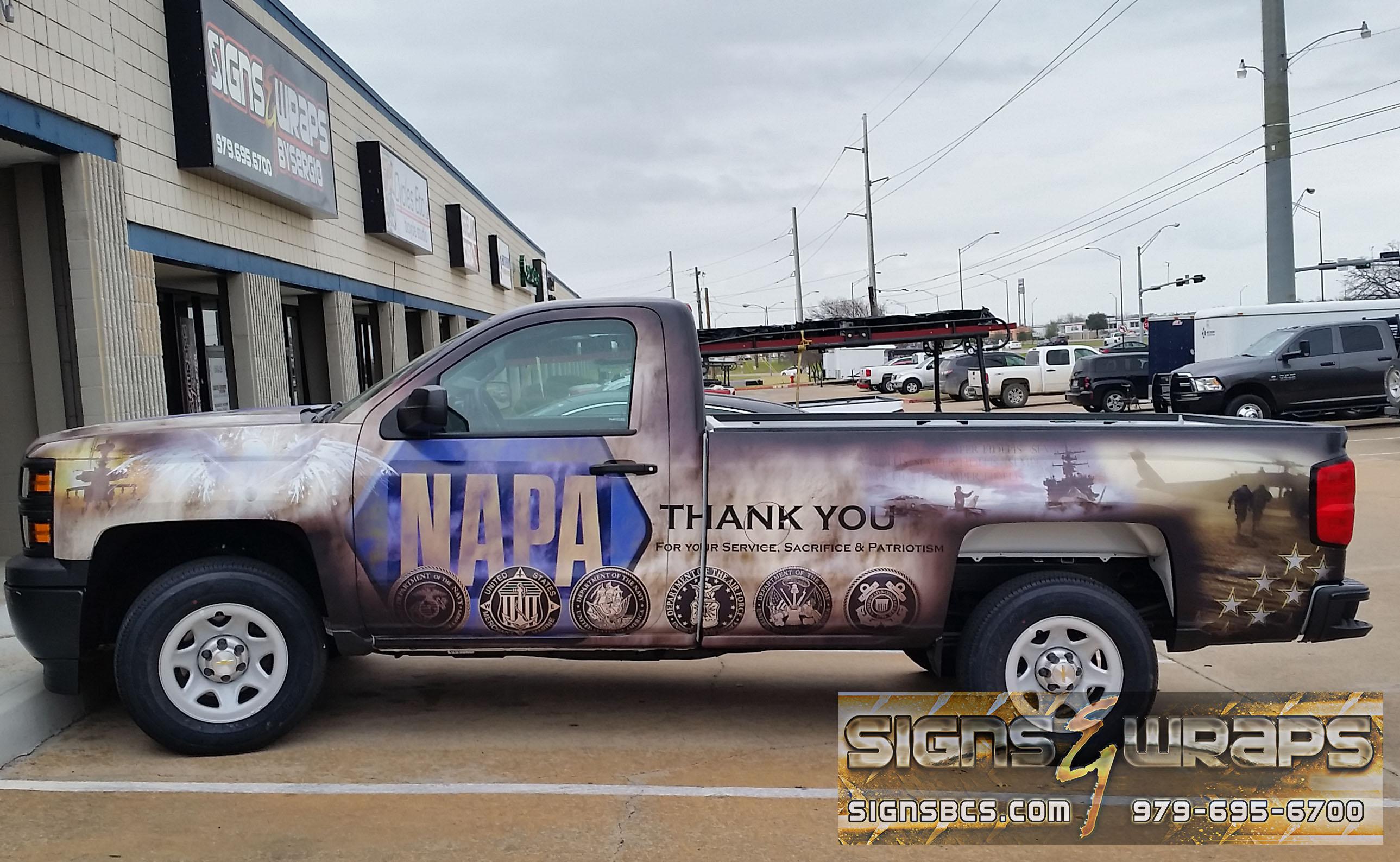Napa Waller Wrap Driver Side