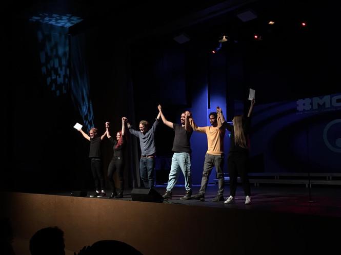 Abschied mit Comedians wie Tahnee, Ususmango und Simon und Ingo.