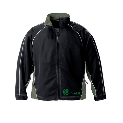 Victory- Youth Athletic Twill Track Jacket
