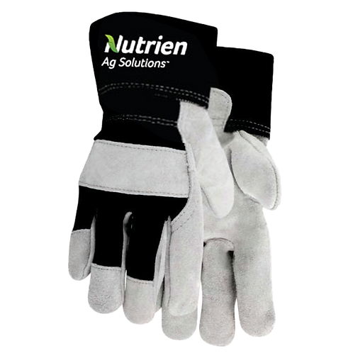 Unlined Cowhide Work Gloves Style 705B
