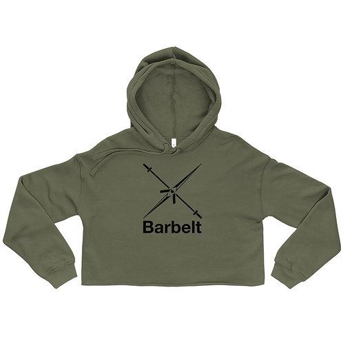 Barbelt Logo - Crop Hoodie