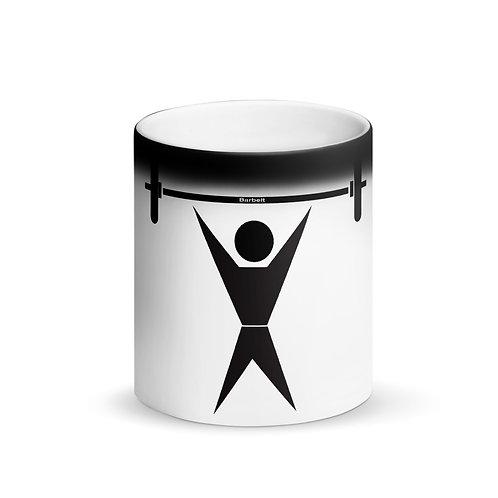Lifting - Matte Black Magic Mug