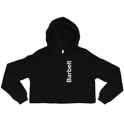 Barbelt Vertical - Crop Hoodie