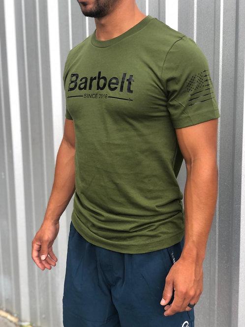 Men's T-Shirt- Barbelt Since 2018