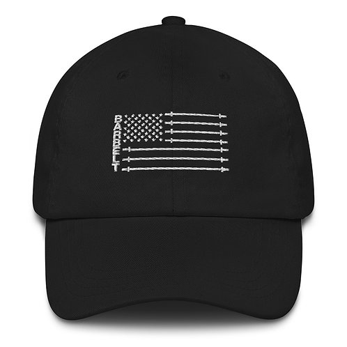 Barbell Flag - Dad hat