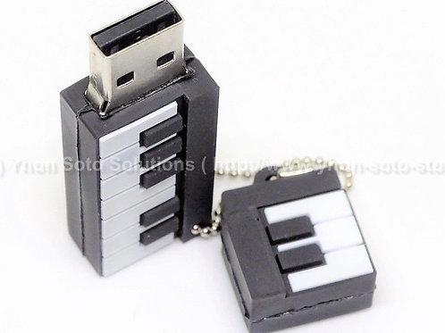 16GB Piano Keyboard USB [Pack of 1]