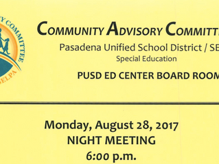 Support PUSD's Special Education Efforts | Meeting open to the public this Monday!