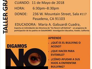 Say No to Bullying | Digamos no al Acoso