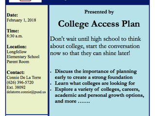 Developing College Ready Middle-Schoolers at Longfellow Elementary | February 1st