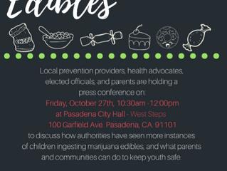Press Conference: Marijuana Edibles | October 27