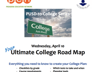 Your Ultimate College Road Map | April 10