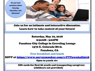 Foster Youth Town Hall: Breaking Barriers to Your Success