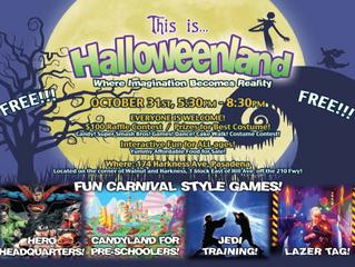 Halloweenland at Pasadena Foursquare Church!