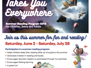 Summer Reading Program 2018 | For Children, Teens and Adults!