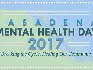 Mental Health Day Coming   May 6th