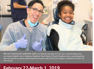 Mobile Dental Clinic coming in February 2019!