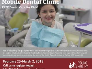 FREE Dental Care for Kids | Cuidado dental GRATIS para los niños