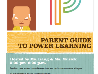 Parent Guide to Power Learning | January 23, 2018