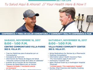 Community Health Conference and Fair | Nov. 18