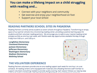 Walk To Read to students in PUSD schools near you!