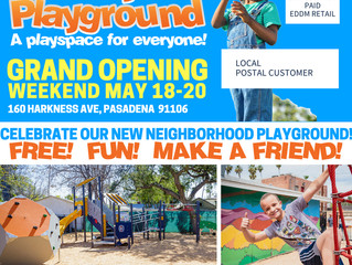 Opening Weekend Celebration Events for Wally's Playground! | May 18 - May 20