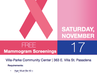 Free Mammogram Screenings | Saturday, November 17