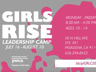 Girls Rise Leadership Camp | Niñas Suben - Campamento de Liderazgo