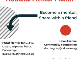 January is National Mentor Month | Share with a friend!