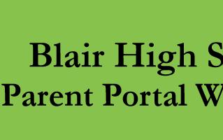 Parent Portal Workshop at Blair High School | January 18, 2018
