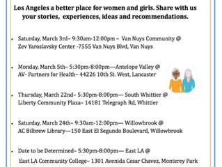 LA County Women & Girls Initiative | Community Convenings