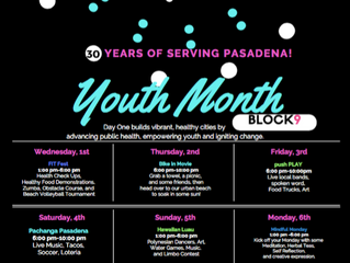 FREE Youth Month Activities @ Day One | August 1 - August 9, 2018