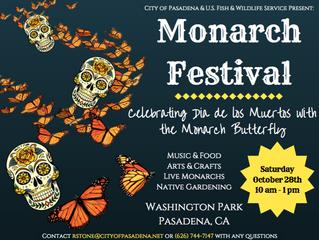 Monarch Festival at Washington Park! | October 28