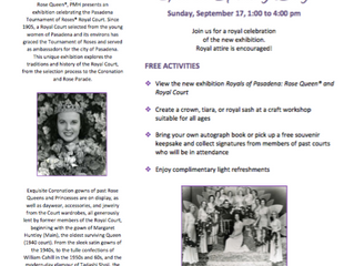 Royals of Pasadena | Grand Opening Day in September