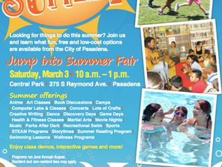 Jump Into Summer! | Date Change: March 10