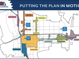Our Pasadena - Putting the Plan in Motion.