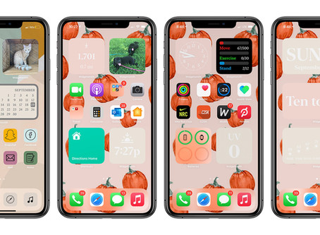 A Collection Of iOS 14 Apps With Great Widgets Design