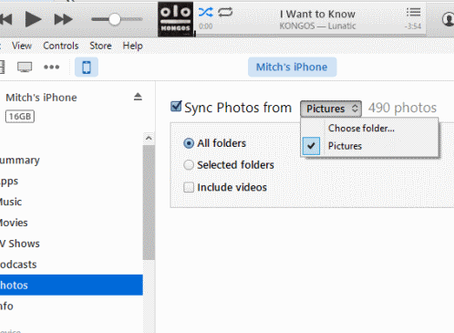 How to Add Photos To iTunes for Syncing To iPhone 12