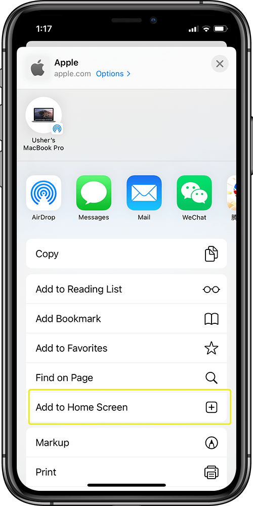How To Add Safari Bookmarks to Home Screen on iPhone 11