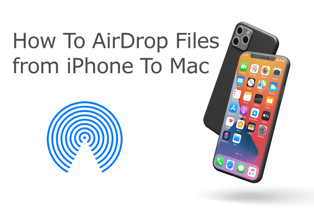 How To AirDrop from iPhone 11 to macOS Big Sur