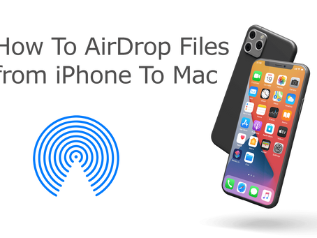 How To AirDrop from iPhone 11 to Mac - macOS Big Sur