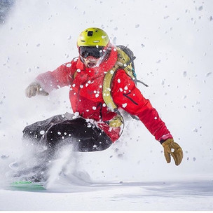 Abe Greenspan loving the powder