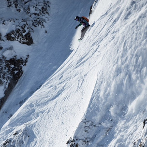 Jon Penfield crushing the Freeride World Tour