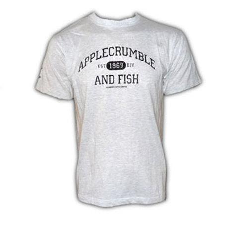 Applecrumble and Fish grey T Shirt