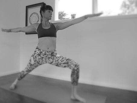 GET FIERCE WITH WARRIOR POSE