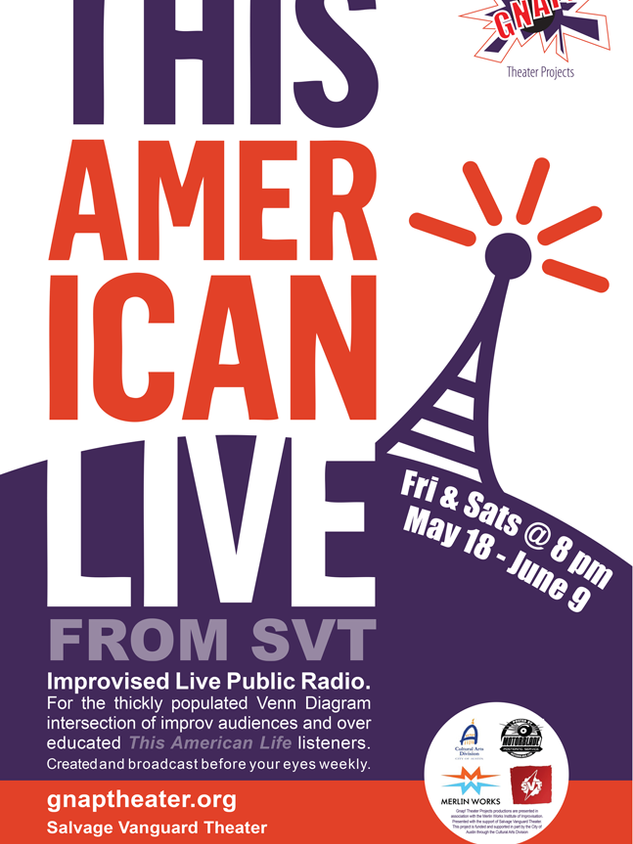 Poster for The American Live