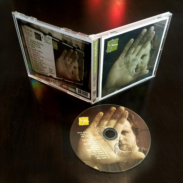 """Album Cover """"Best Case Scenario"""" by Craig Kotfas"""