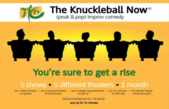 Poster for The Knuckleball Now