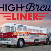 High Brew Liner • Bus Wrap