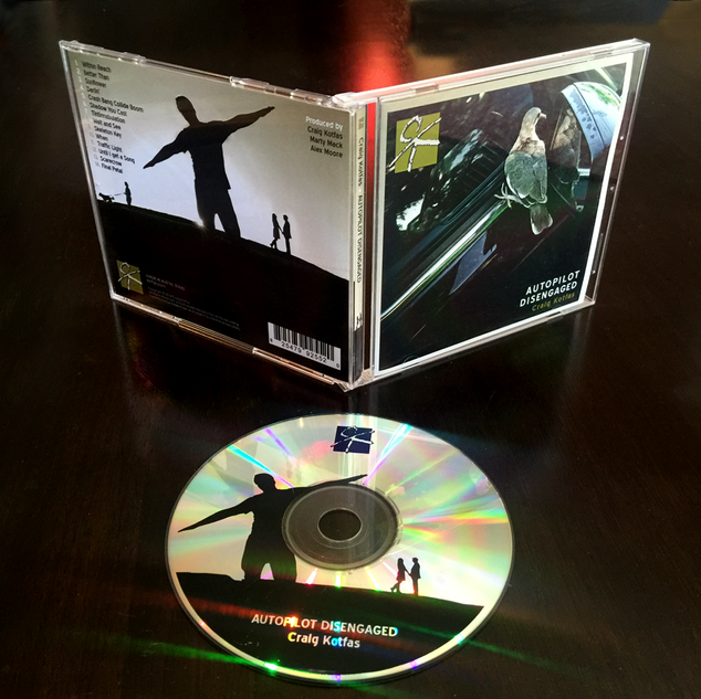 """Album Cover for """"Autopilot Disengaged"""" by Craig Kotfas"""