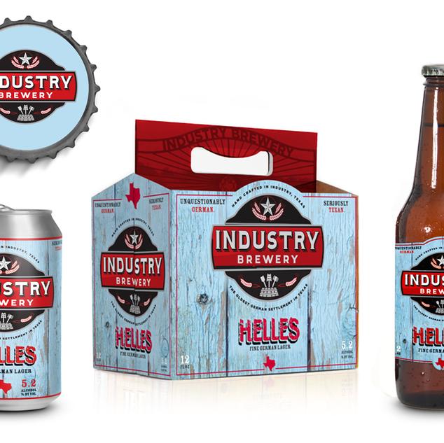Industry Brewing • Helles